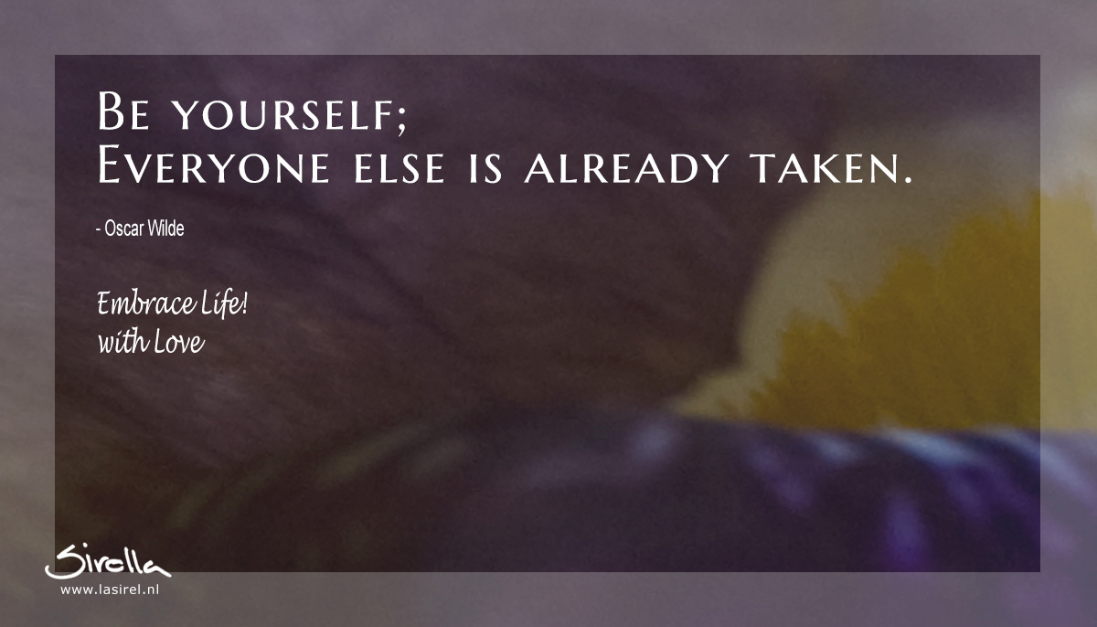 LaSirel_Sirella_Quote_BeYourself