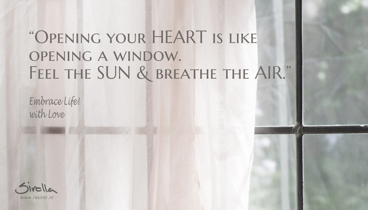 LaSirel_Sirella_Quote_Opening your HEART